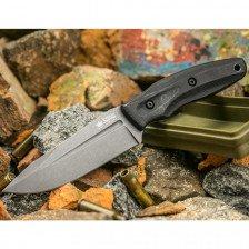 Боен нож Kizlyar CityHunter PGK TacWash Black G1