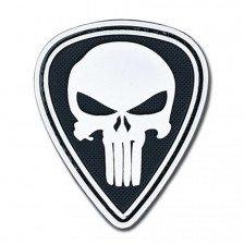 Нашивка Punisher - бял