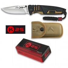 Тактически сгъваем нож K25 19774