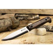 Нож Kizlyar Forester N690 Scandi StoneWash Oak