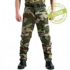 Подсилен полеви панталон BDU Рип Стоп