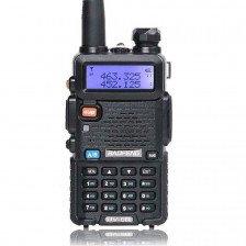 Мощна радиостанция Baofeng UV-5R 8W с VHF-UHF честоти
