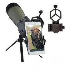 Универсална стойка за смартфон свързан към оптични уреди aks2