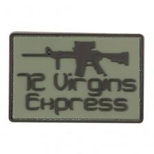 Гумена нашивка 72 Virgins Express