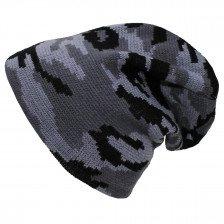 Плетена зимна шапка Urban Camo