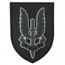 Гумена нашивка SAS - Who Dares Wins