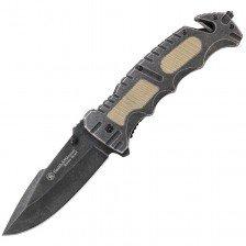 Сгъваем нож Smith & Wesson Border Guard Linerlock