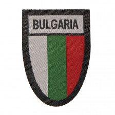 Нашивка щит с българско знаме и надпис