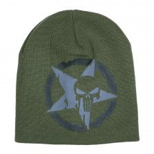 Плетена зимна шапка Punisher Army