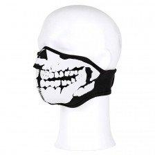 Неопренова  маска  за лице Skull