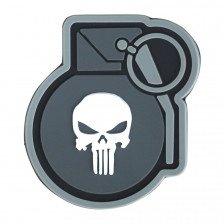 Гумена нашивка Punisher Grenade