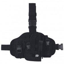 Тактически кобур за бедро с джобове MOLLE R