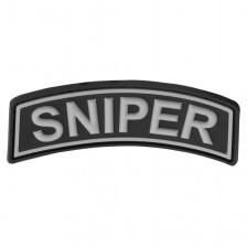 3D гумена нашивка Sniper Tab