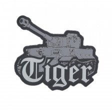 Гумена нашивка Tiger tank 3D