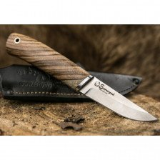 Нож Samoyed N690 Zebrawood
