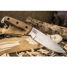 Нож Kizlyar Shark AUS-8 LightSW Walnut