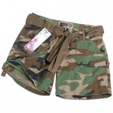 Дамски къс панталон - намалени цветове