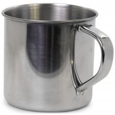 Стоманено къмпинг канче 300 ml