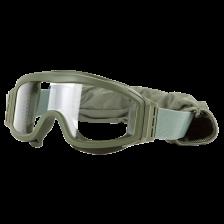 Балистични очила V-TAC Tango - зелено стъкло