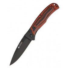 Сгъваем нож Kizlyar Prime V2-D2-BT Red G10