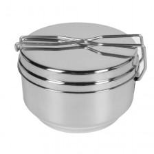 Комплект съдове за хранене и готвене