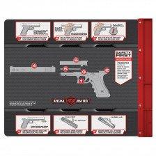 Постелка за почистване на оръжие Glock Real Avid