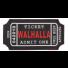 Гумена нашивка Ticket to Walhalla 204110-01